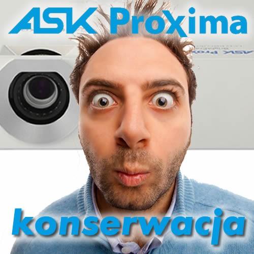 Konserwacja projektora Ask Proxima