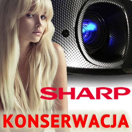 Konserwacja Projektora Sharp