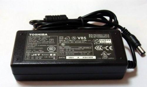 Zasilacz Toshiba